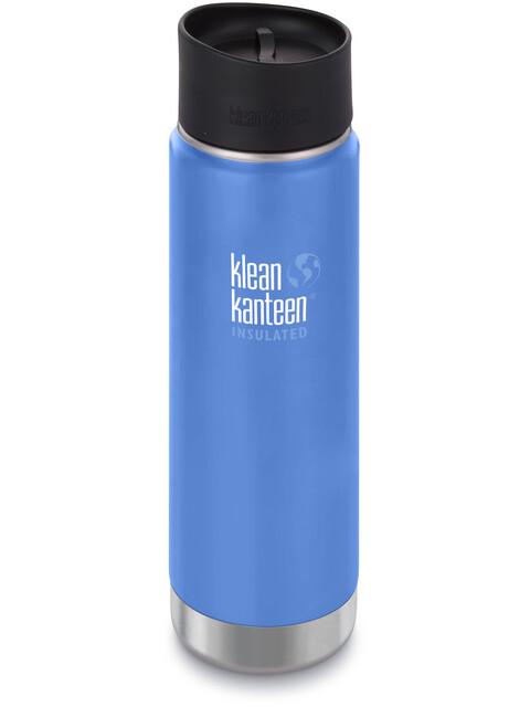 Klean Kanteen Wide Vacuum Insulated Bottle Café Cap 2.0 592ml Pacific Sky